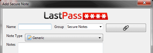 secure note attachments