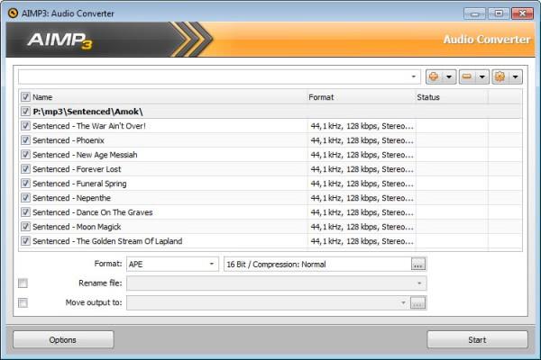 aimp3 audio converter