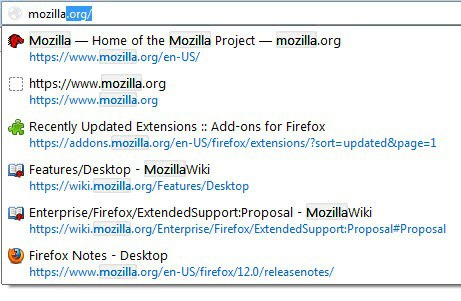 firefox highlight search terms