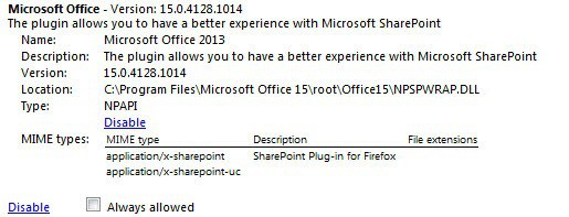 microsoft office plugin