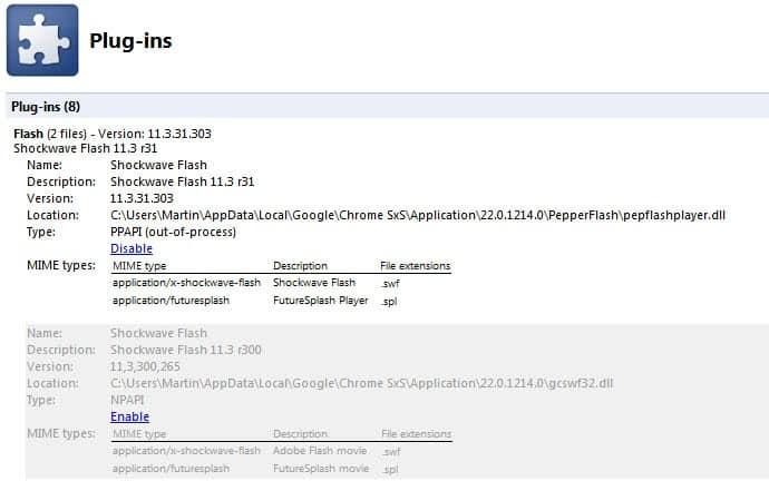 How to Disable or Remove Google Chrome Plugins « WTI NewsBlog