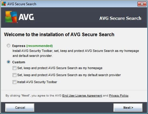 AVG Linkscanner discontinued: Secure Search takes its place