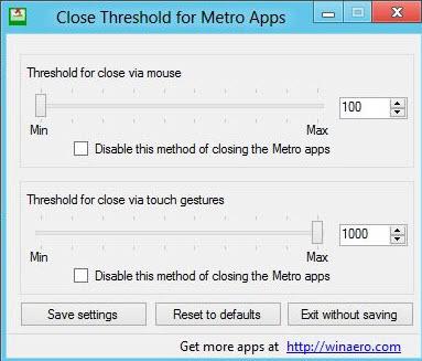 close metro apps