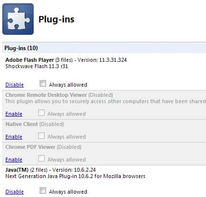 How to Disable Java in your Web Browser « WTI NewsBlog