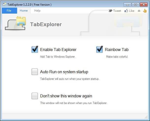 tab explorer