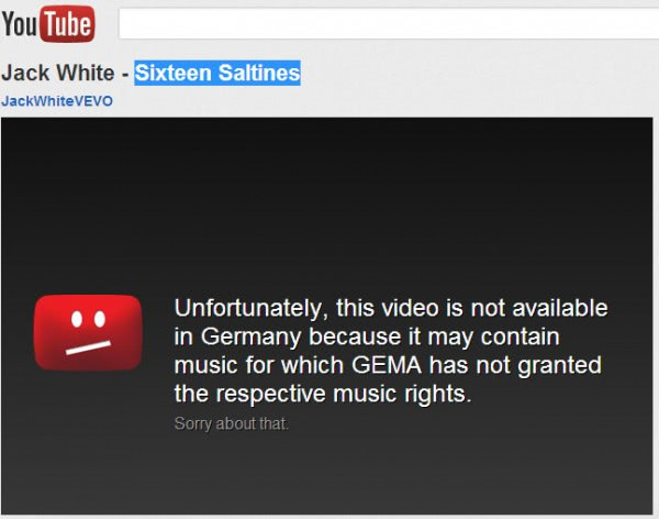 this video is not available