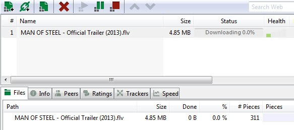 what is a torrent file