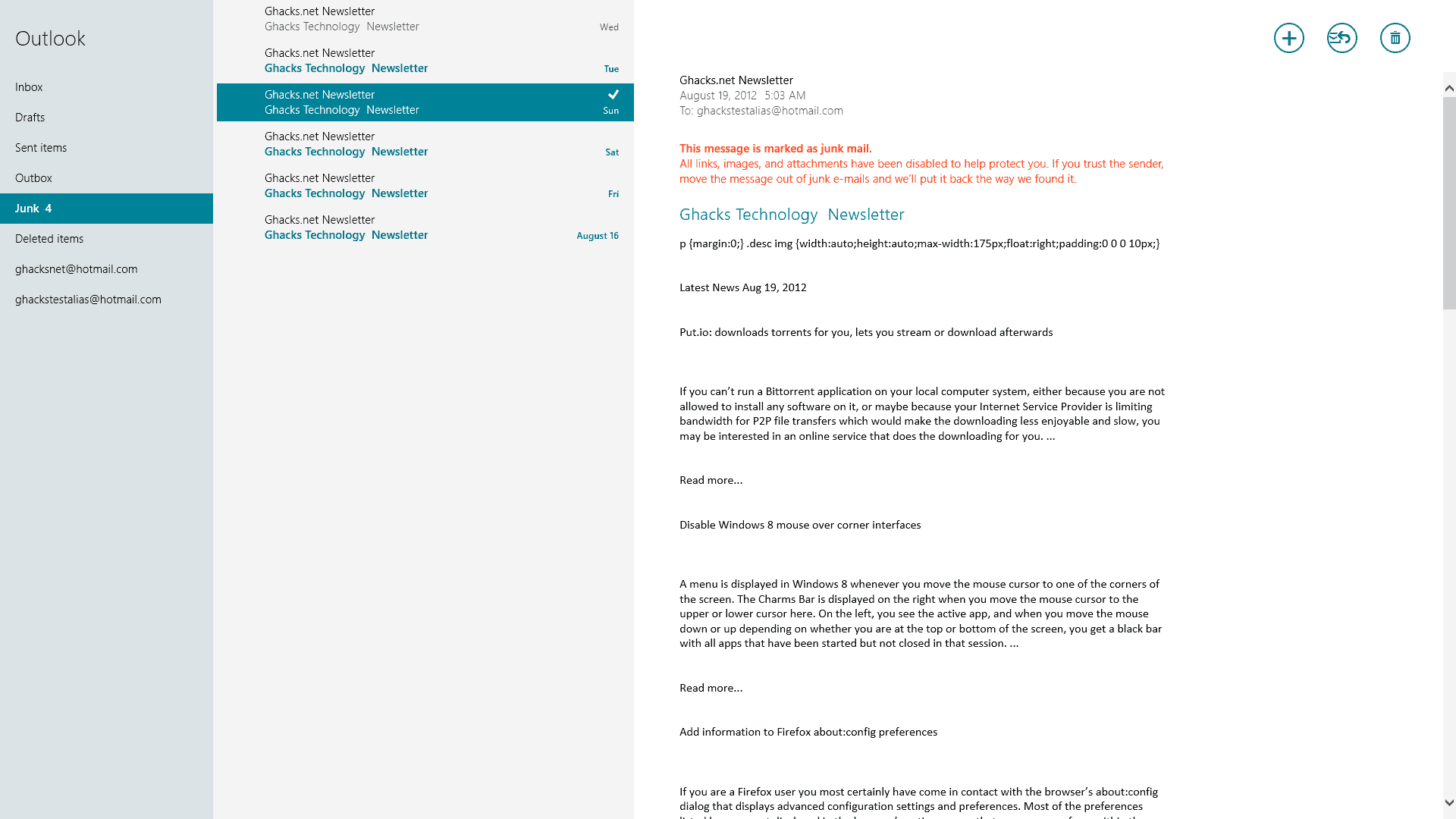how to add p.s to email