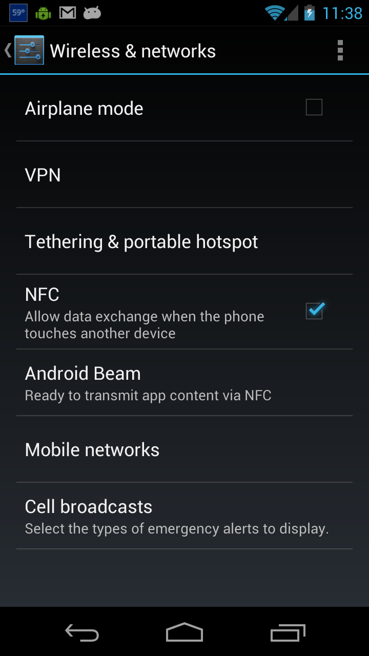 Turn Off Nfc On Your Android Phone To Save Battery And