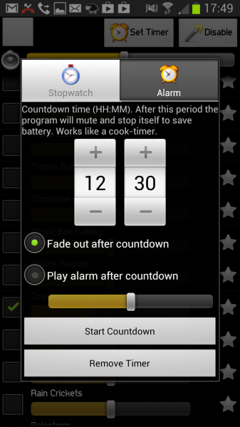 android sleep app