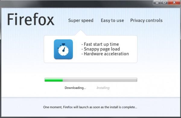 firefox web installer