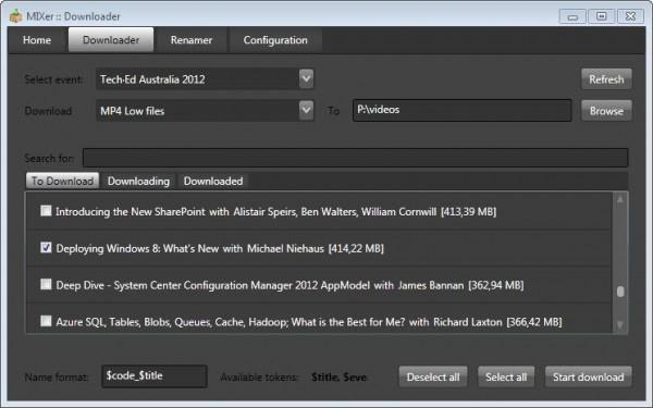 mixer download tech videos