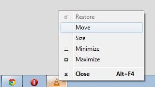 move window