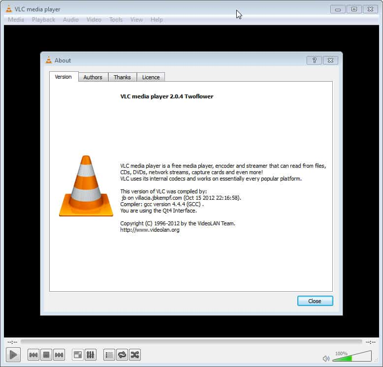 VLC Media Player 2.04 update released - gHacks Tech News