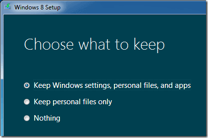 Windows 8 upgrade clean install possible ghacks tech news not for clean installation windows 8 upgrade setup ccuart Choice Image