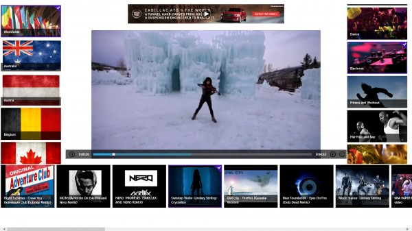 music videos app windows 8