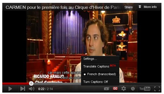 youtube video cc
