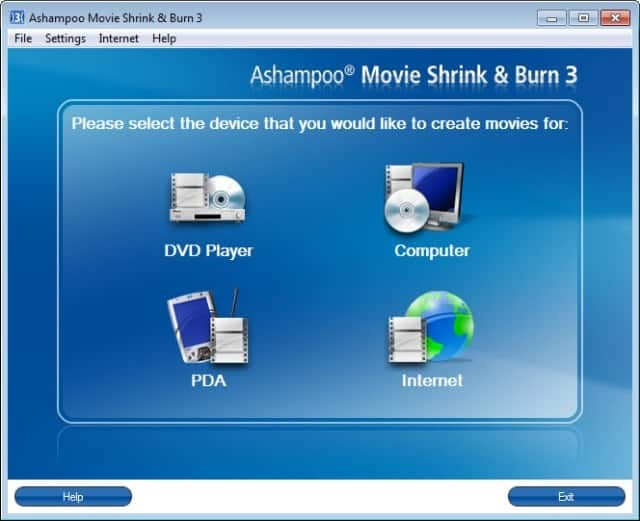 ashampoo movie shrink burn