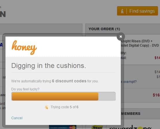 find discount codes