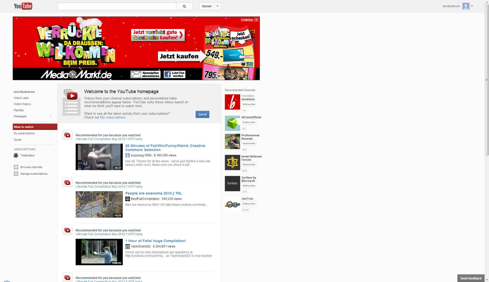 How To Download Videos Using Google Chrome New Youtube Design