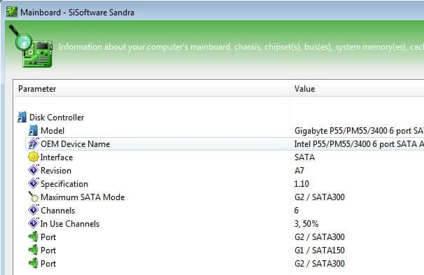 sata mode supported