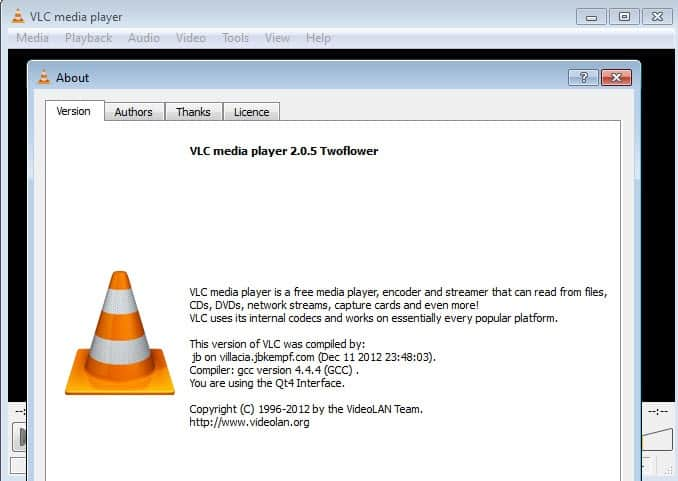 VLC VIDEO PLAYER WINDOWS
