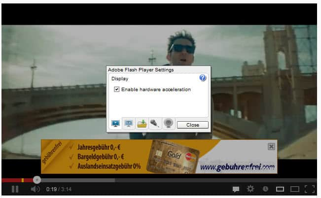 hardware acceleration screenshot