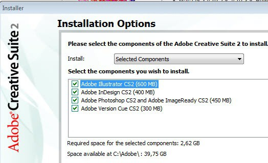 install adobe creative suite free