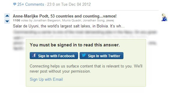 quora you must be signed in to read this answer