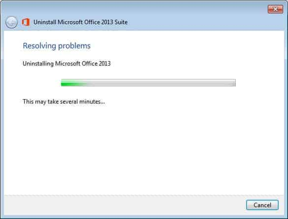 How to uninstall Microsoft Office 2013 or Office 365 - gHacks Tech ...