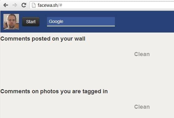 scan facebook