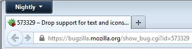 firefox icons screenshot
