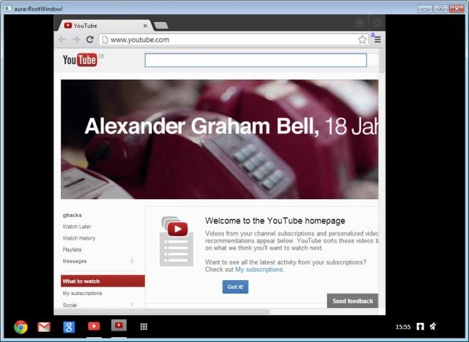 google chrome os windows screenshot
