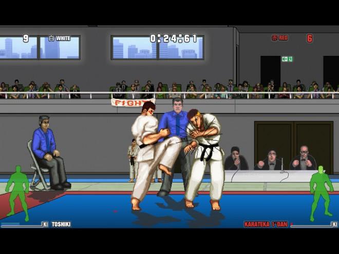 karate master game screenshot