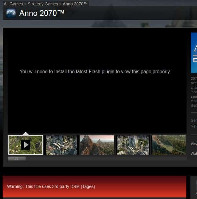 steam drm screenshot
