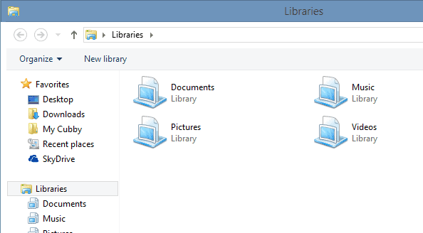 windows explorer without ribbon