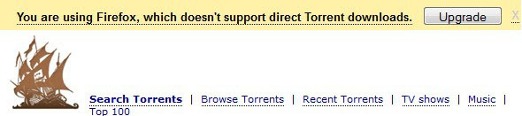 you are using firefox which doesnt support direct torrent downloads screenshot