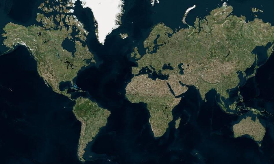 Bing Maps Satelitte Imagery