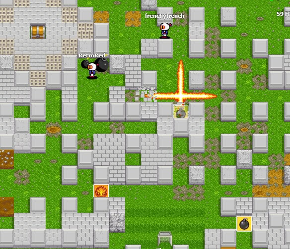 bombermine game