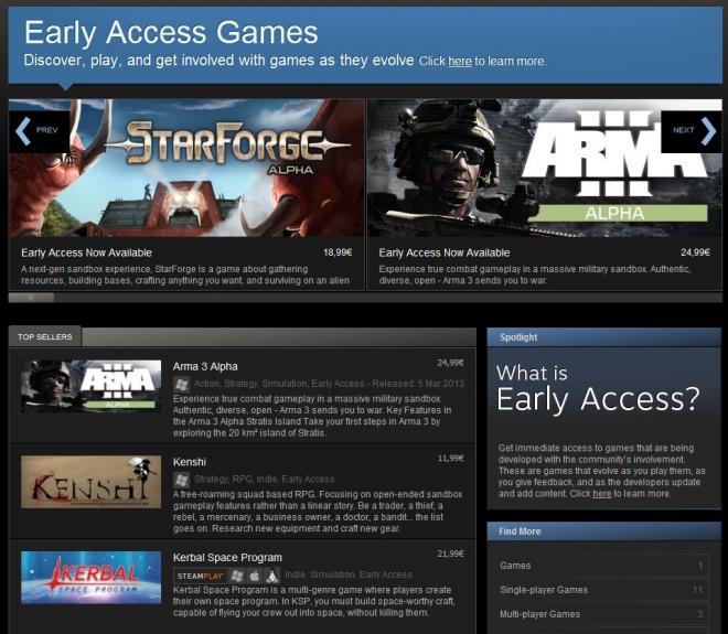 steam beta games