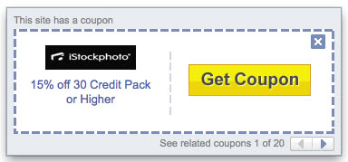 yahoo toolbar coupon