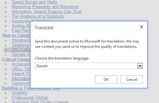 translate office doc