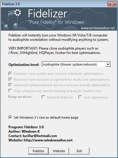windows audio optimization