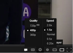 youtube play videos faster