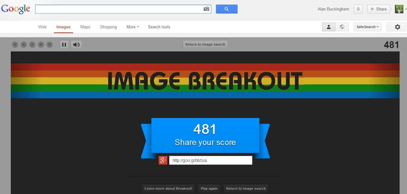 how to get images on google images