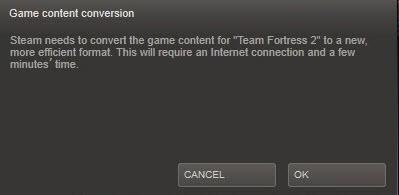 steam game content conversion