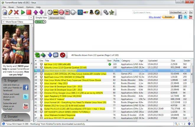 torrentrover desktop torrentsearch