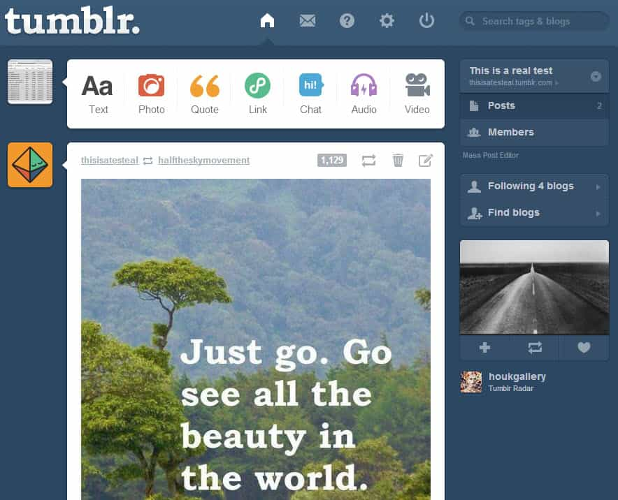 Should you start your first blog on Tumblr or Wordpress