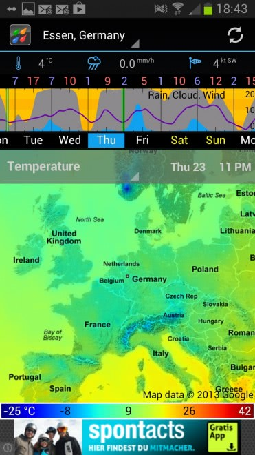 weather map forecast
