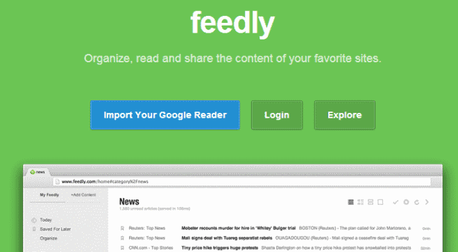 feedly web